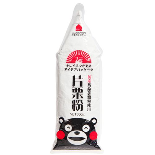国産片栗粉(くまモンイラスト)
